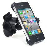 Велодержатель для Apple iPhone 4 / 4S на руль (черный)