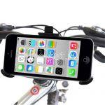 Велодержатель для Apple iPhone 5C на руль (черный)