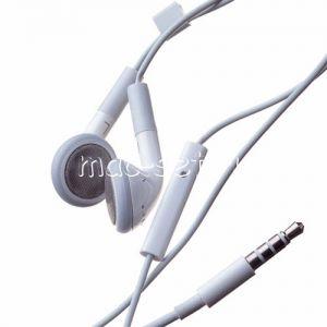 Гарнитура Apple с кнопками регулировки громкости (белая)