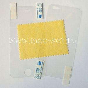 Защитная пленка (комплект) для Apple iPhone 5 (прозрачная)
