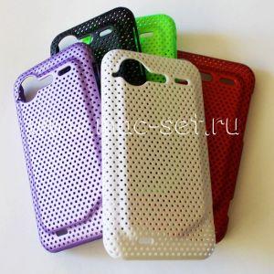 Чехол-накладка пластиковый сетка для HTC Incredible S