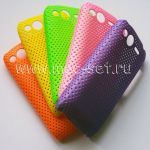 Чехол-накладка пластиковый сетка для HTC Desire S
