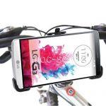 Велодержатель для LG G3 D855 / Dual D856 на руль (черный)