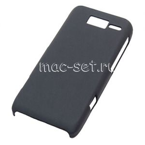 Чехол-накладка пластиковый для Motorola Razr i XT890 (черный)
