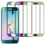 "Защитное стекло 3D для Samsung Galaxy S6 Edge G925F ""Премиум"" [переднее]"