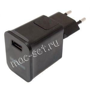 Сетевое зарядное устройство USB для Samsung Tab / Note 2000mA (черное)