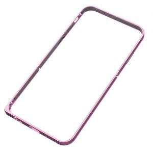 Чехол-бампер алюминиевый для Apple iPhone 6 (сиреневый) LOVE MEI