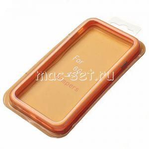 Чехол-бампер силиконовый для Apple iPhone 6 / 6S (оранжевый)
