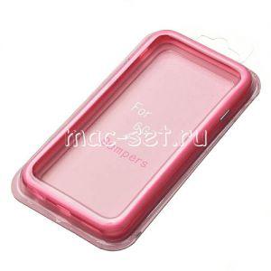 Чехол-бампер силиконовый для Apple iPhone 6 / 6S (розовый)