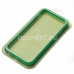 Чехол-бампер силиконовый для Apple iPhone 6 / 6S (зеленый)