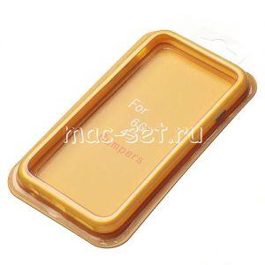 Чехол-бампер силиконовый для Apple iPhone 6 / 6S (желтый)