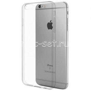 Чехол-накладка силиконовый для Apple iPhone 6 Plus / 6S Plus (прозрачный 0.5мм)