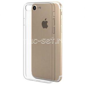 Чехол-накладка силиконовый для Apple iPhone 7 / 8 [толщина 0.5 мм] (прозрачный)