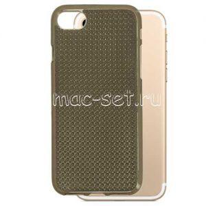 Чехол-накладка силиконовый для Apple iPhone 7 / 8 (серый) Star