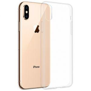 Чехол-накладка силиконовый для Apple iPhone XS Max (прозрачный 1.0мм)