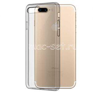 Чехол-накладка силиконовый для Apple iPhone 7 Plus / 8 Plus (серый 0.5мм)
