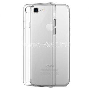 Чехол-накладка силиконовый для Apple iPhone 7 / 8 [толщина 0.3 мм] (прозрачный)