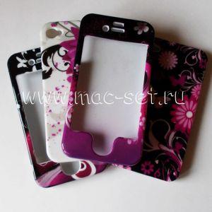 Чехол-накладка пластиковый кейс для Apple iPhone 4 / 4S