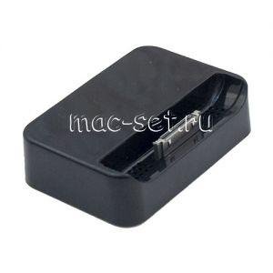 Док-станция для Apple iPhone 4 / 4S (черная)