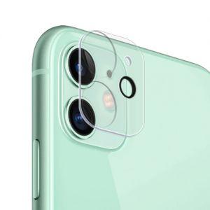 Защитнoе стекло 3D для камеры Apple iPhone 11 с фокусировкой вспышки