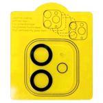 Защитнoе стекло 3D для камеры Apple iPhone 12 mini с фокусировкой вспышки (прозрачное) Deluxe+