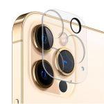 Защитнoе стекло 3D для камеры Apple iPhone 12 Pro Max с фокусировкой вспышки