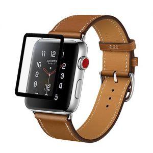 Защитное стекло для Apple Watch 38 мм (черное)
