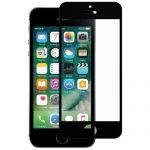 Защитное стекло для Apple iPhone 5 / 5C / 5S / SE [на весь экран] (черное)