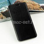 Чехол-книжка кожаный для ASUS ZenFone 4 A450CG (черный) MOFI