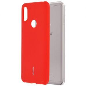 Чехол-накладка силиконовый для ASUS ZenFone Max Pro (M1) ZB602KL (красный) Cherry