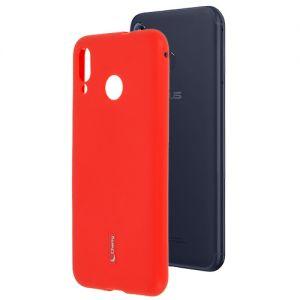Чехол-накладка силиконовый для ASUS ZenFone Max (M1) ZB555KL (красный) Cherry