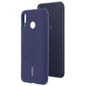 Чехол-накладка силиконовый для ASUS ZenFone Max (M1) ZB555KL (синий) Cherry