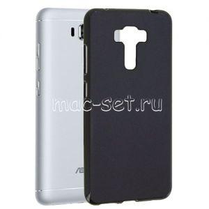 Чехол-накладка силиконовый для ASUS ZenFone 3 Laser ZC551KL (черный 0.8мм) Soft-Touch