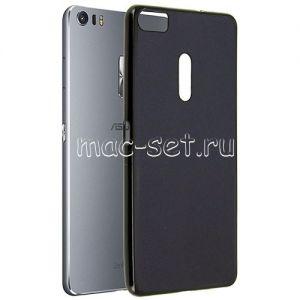 Чехол-накладка силиконовый для ASUS ZenFone 3 Ultra ZU680KL (черный 0.8мм) Soft-Touch