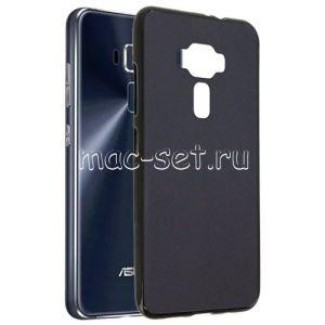 Чехол-накладка силиконовый для ASUS ZenFone 3 ZE520KL (черный 0.8мм) Soft-Touch