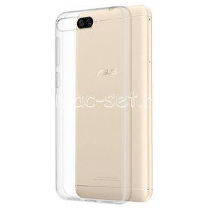 Чехол-накладка силиконовый для ASUS ZenFone 4 Max ZC520KL [толщина 0.5 мм] (прозрачный)