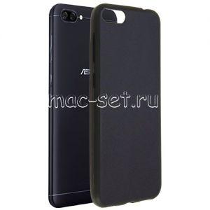Чехол-накладка силиконовый для ASUS ZenFone 4 Max ZC520KL (черный 0.8мм) Soft-Touch