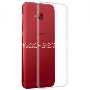 Чехол-накладка силиконовый для ASUS ZenFone 4 Selfie Pro ZD552KL (прозрачный 0.5мм)