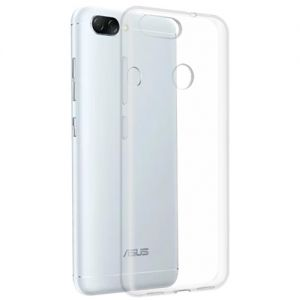 Чехол-накладка силиконовый для ASUS ZenFone Max Plus (M1) ZB570TL (прозрачный 1.0мм)