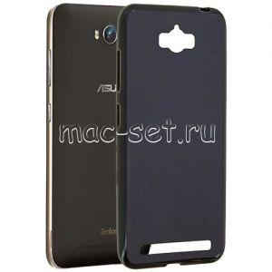 Чехол-накладка силиконовый для ASUS ZenFone Max ZC550KL (черный 0.8мм) Soft-Touch