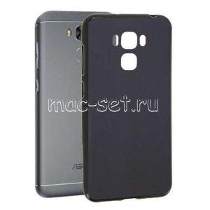 Чехол-накладка силиконовый для ASUS ZenFone 3 Max ZC553KL (черный 0.8мм) Soft-Touch