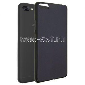Чехол-накладка силиконовый для ASUS ZenFone 4 Max ZC554KL (черный 0.8мм) Soft-Touch