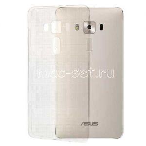 Чехол-накладка силиконовый для ASUS ZenFone 3 Deluxe ZS570KL (прозрачный 0.5мм)