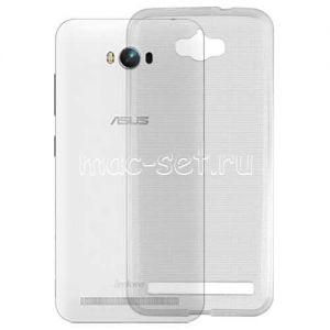 Чехол-накладка силиконовый для ASUS ZenFone Max ZC550KL (серый 0.5мм)