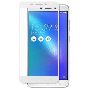 Защитное стекло для ASUS ZenFone 3 Laser ZC551KL [на весь экран] (белое)