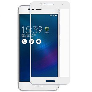 Защитное стекло для ASUS ZenFone 3 Max ZC520TL [на весь экран] (белое)