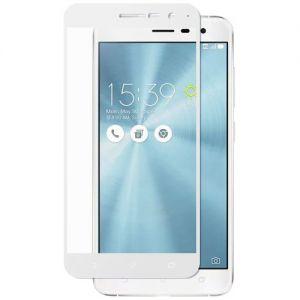Защитное стекло для ASUS ZenFone 3 ZE520KL [на весь экран] (белое)