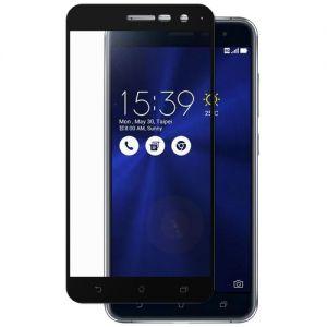 Защитное стекло для ASUS ZenFone 3 ZE520KL [на весь экран] (черное)