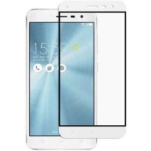 Защитное стекло для ASUS ZenFone 3 ZE552KL [на весь экран] (белое)