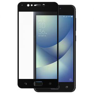 Защитное стекло для ASUS ZenFone 4 Max ZC520KL [на весь экран] (черное)